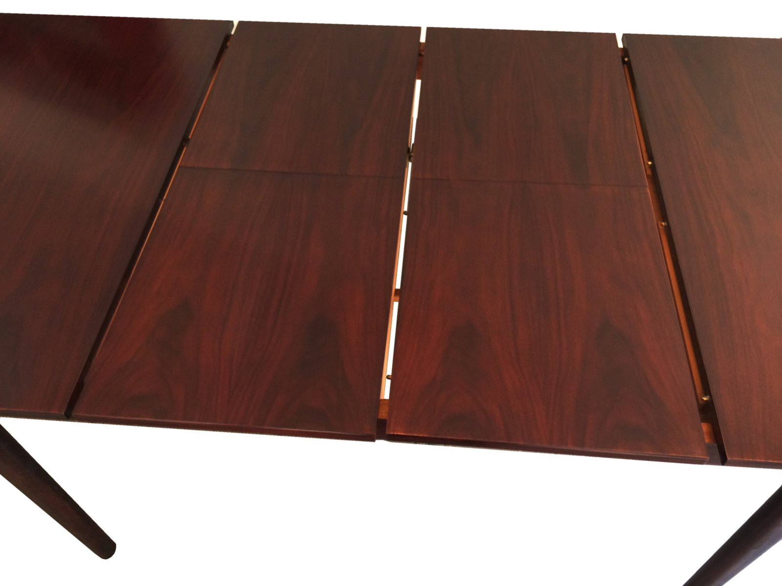 Mid Century Rosewood Extending Dining Table by Tom Robertson