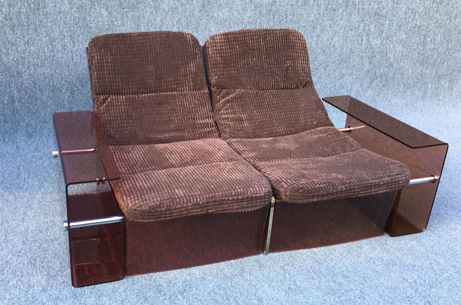 vintage 2 und 3 sitzer sofas 2er set bei pamono kaufen. Black Bedroom Furniture Sets. Home Design Ideas