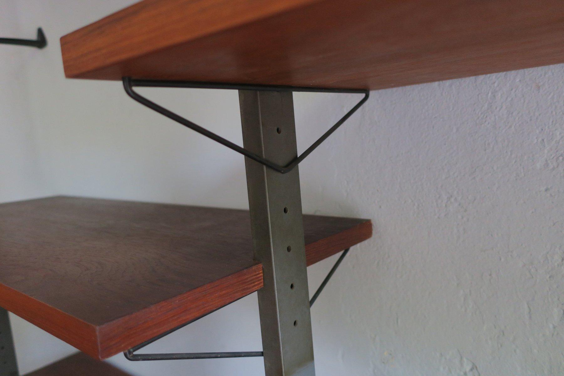 modulares schwedisches regalsystem von olof pira 1960er. Black Bedroom Furniture Sets. Home Design Ideas