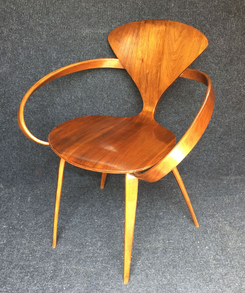 vintage armchair by norman cherner for plycraft for sale at pamono