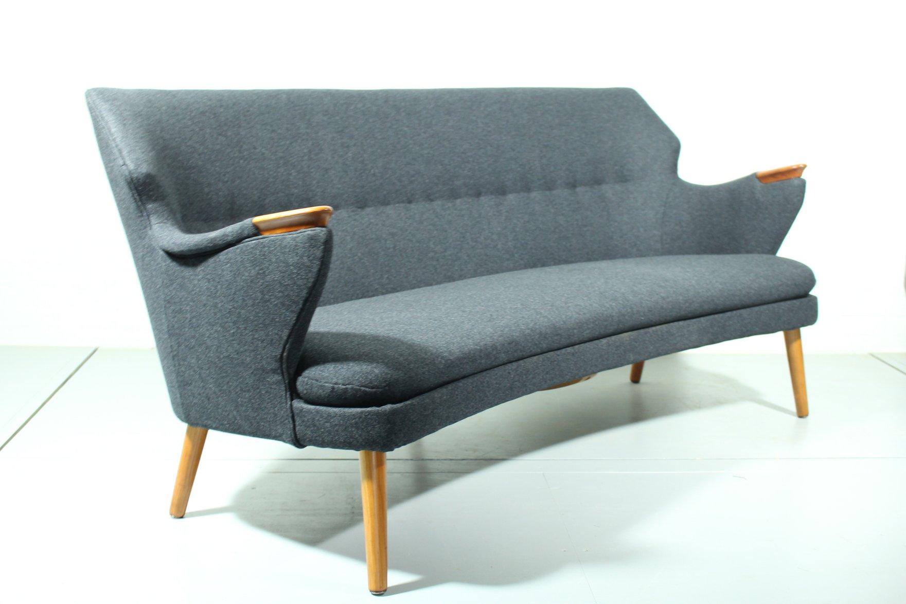 Mid century sofa sessel und tisch set bei pamono kaufen for Sessel und couch