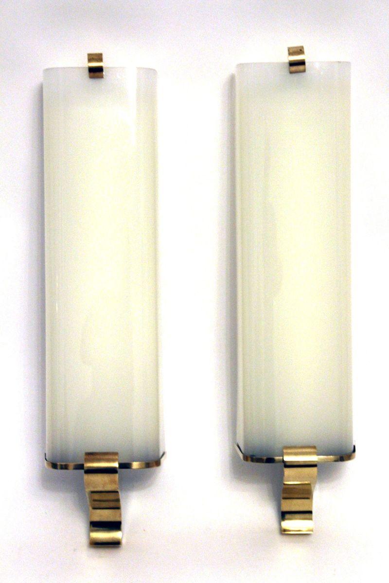 gro e vintage wandlampen 2er set bei pamono kaufen. Black Bedroom Furniture Sets. Home Design Ideas