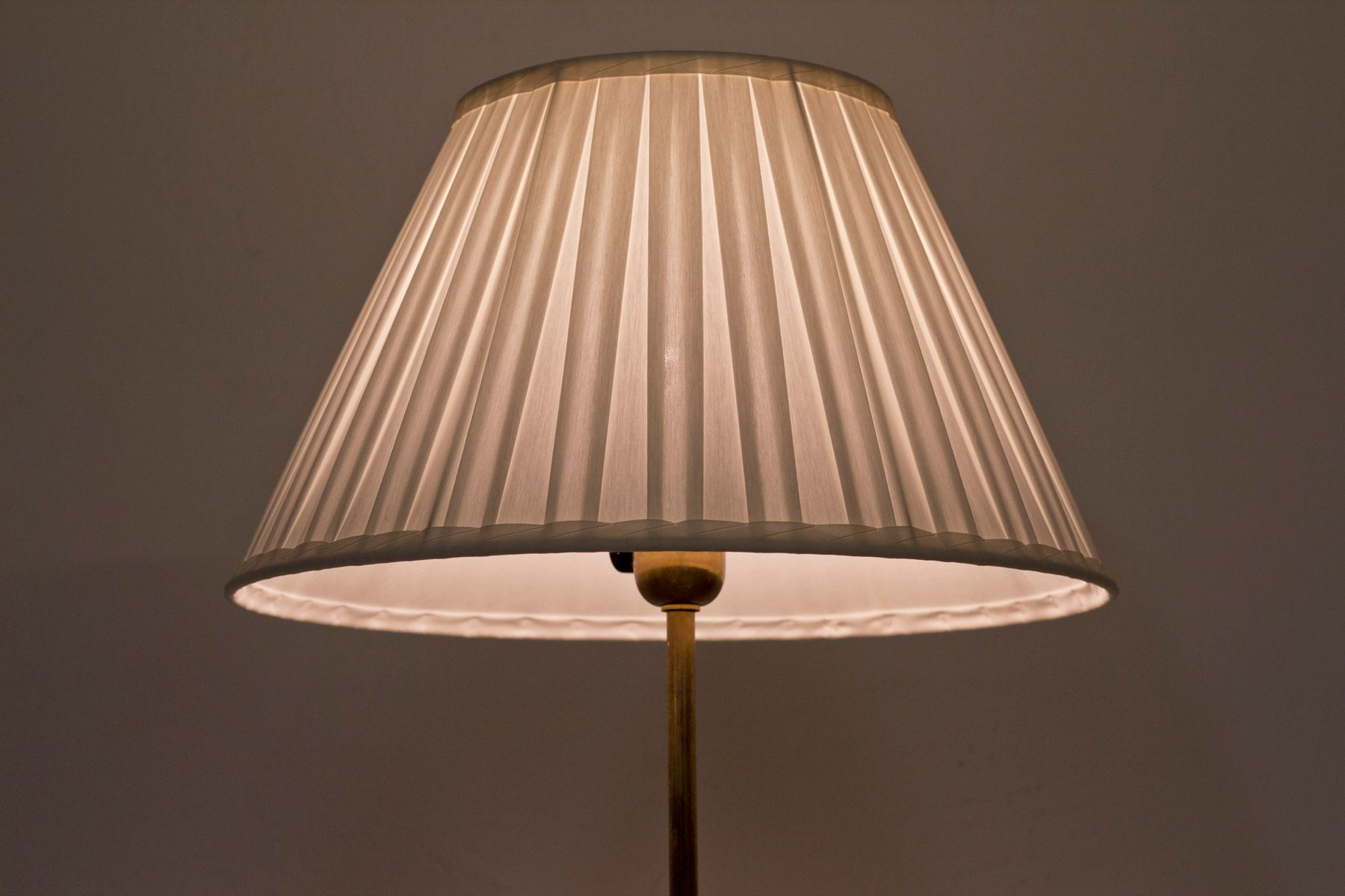 Brass floor lamps from cebe 1950s set of 2 for sale at for 1950s floor lamps