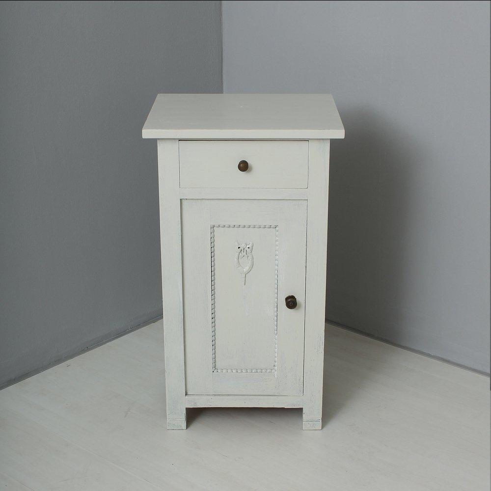 wei er vintage nachtschrank 1920er bei pamono kaufen. Black Bedroom Furniture Sets. Home Design Ideas
