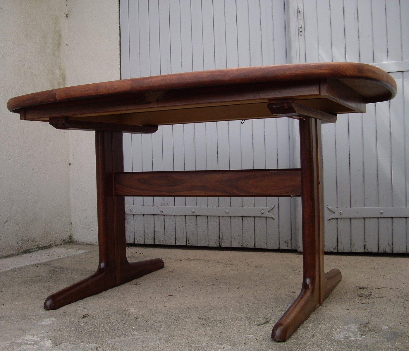 d nischer vintage palisander esstisch von skovby bei. Black Bedroom Furniture Sets. Home Design Ideas