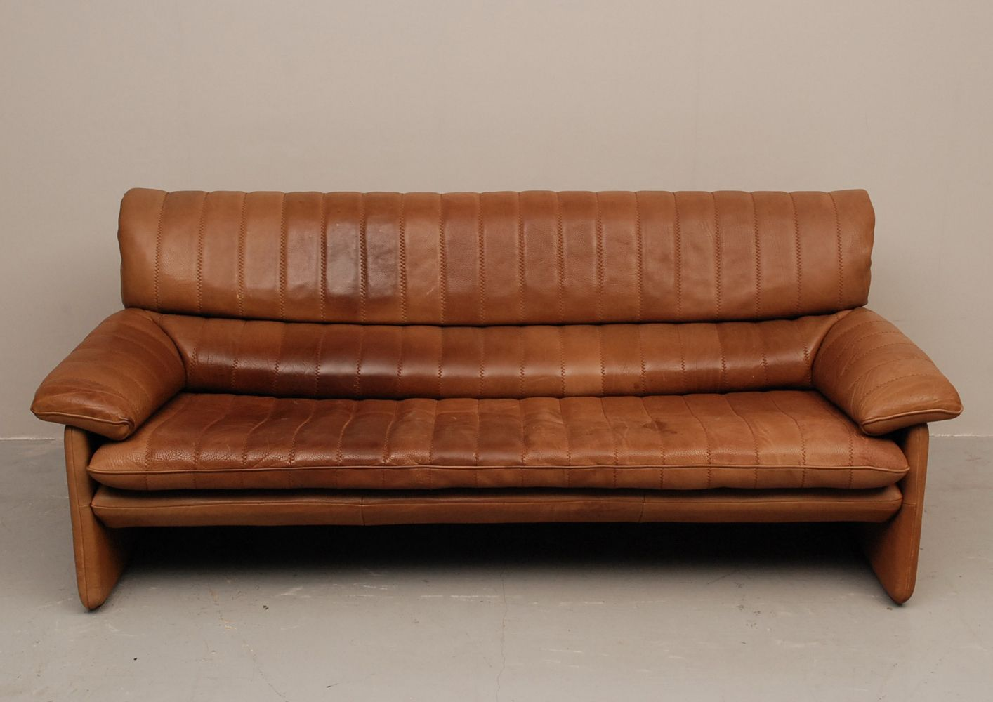 2 seater sofa from de sede for sale at pamono for Sofa 1 sitzer