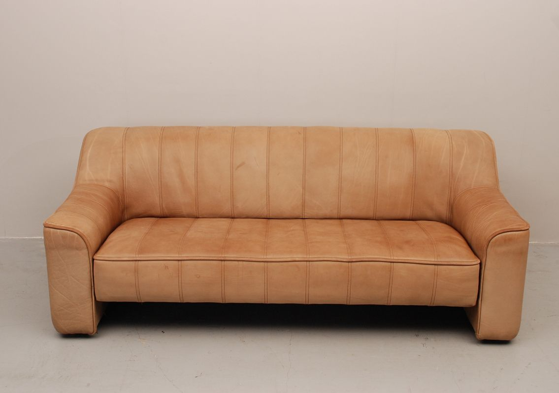 vintage 3 seater sofa ds44 from de sede switzerland for sale at pamono. Black Bedroom Furniture Sets. Home Design Ideas