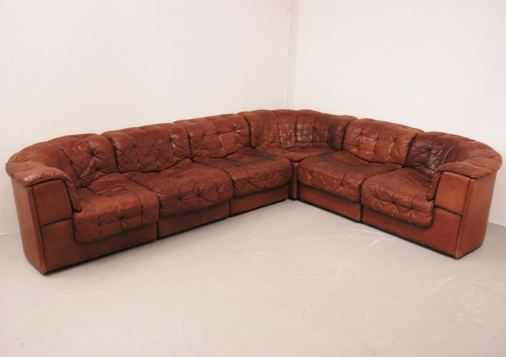 ds 11 wohnzimmergarnitur von de sede. Black Bedroom Furniture Sets. Home Design Ideas