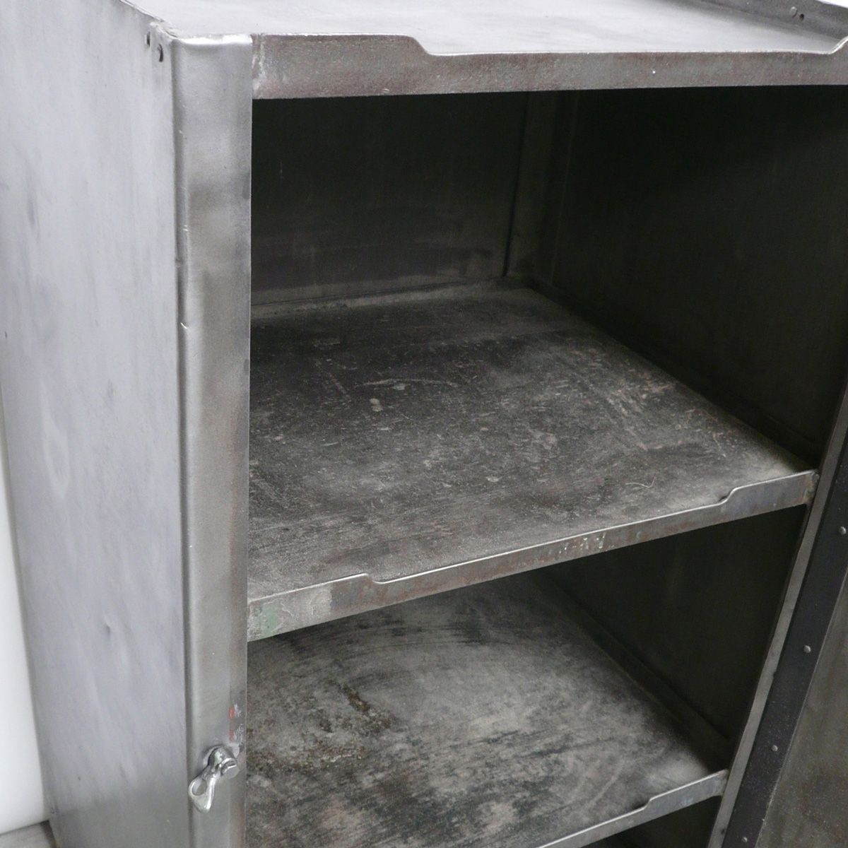 Industrial steel cabinet 1940s for sale at pamono for 1940s kitchen cabinets for sale