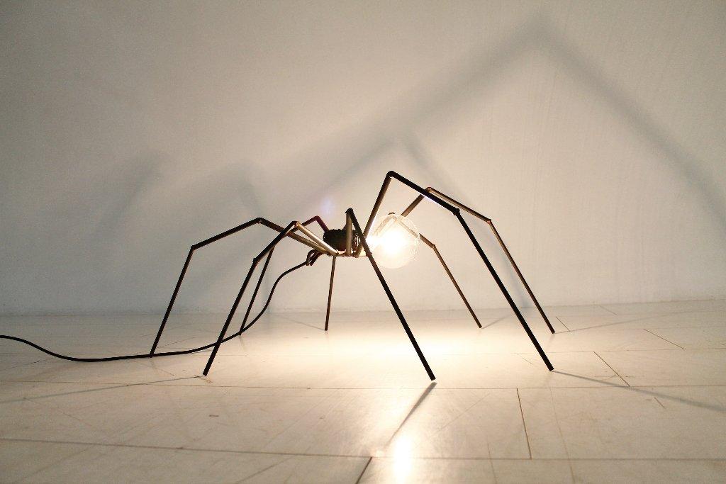 brutalist floor lamp 1970s for sale at pamono. Black Bedroom Furniture Sets. Home Design Ideas