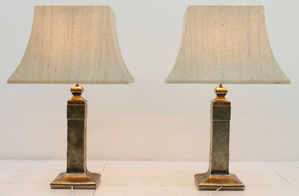 ceramic table lamps 1970s set of 2 for sale at pamono. Black Bedroom Furniture Sets. Home Design Ideas