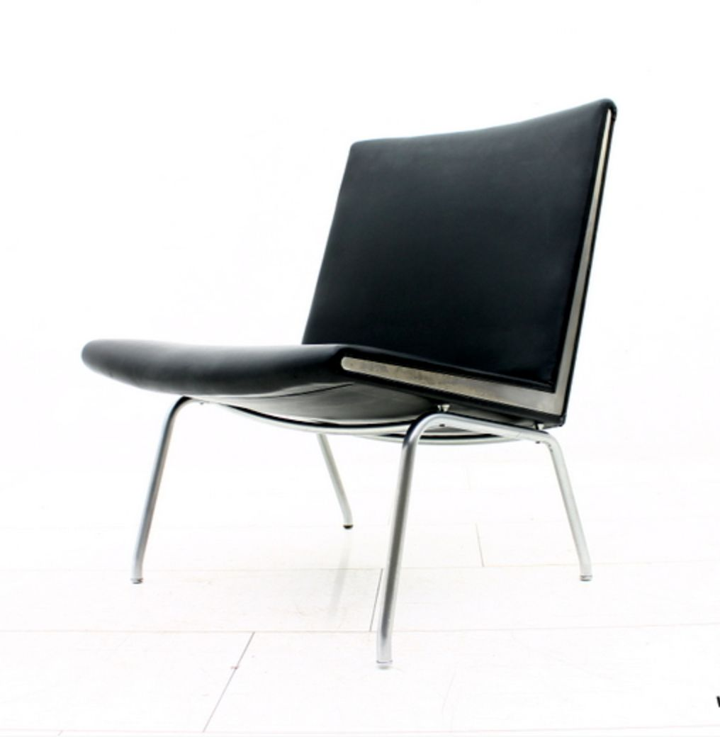 ap 40 airport chair by hans j wegner for ap stolen 1950s. Black Bedroom Furniture Sets. Home Design Ideas