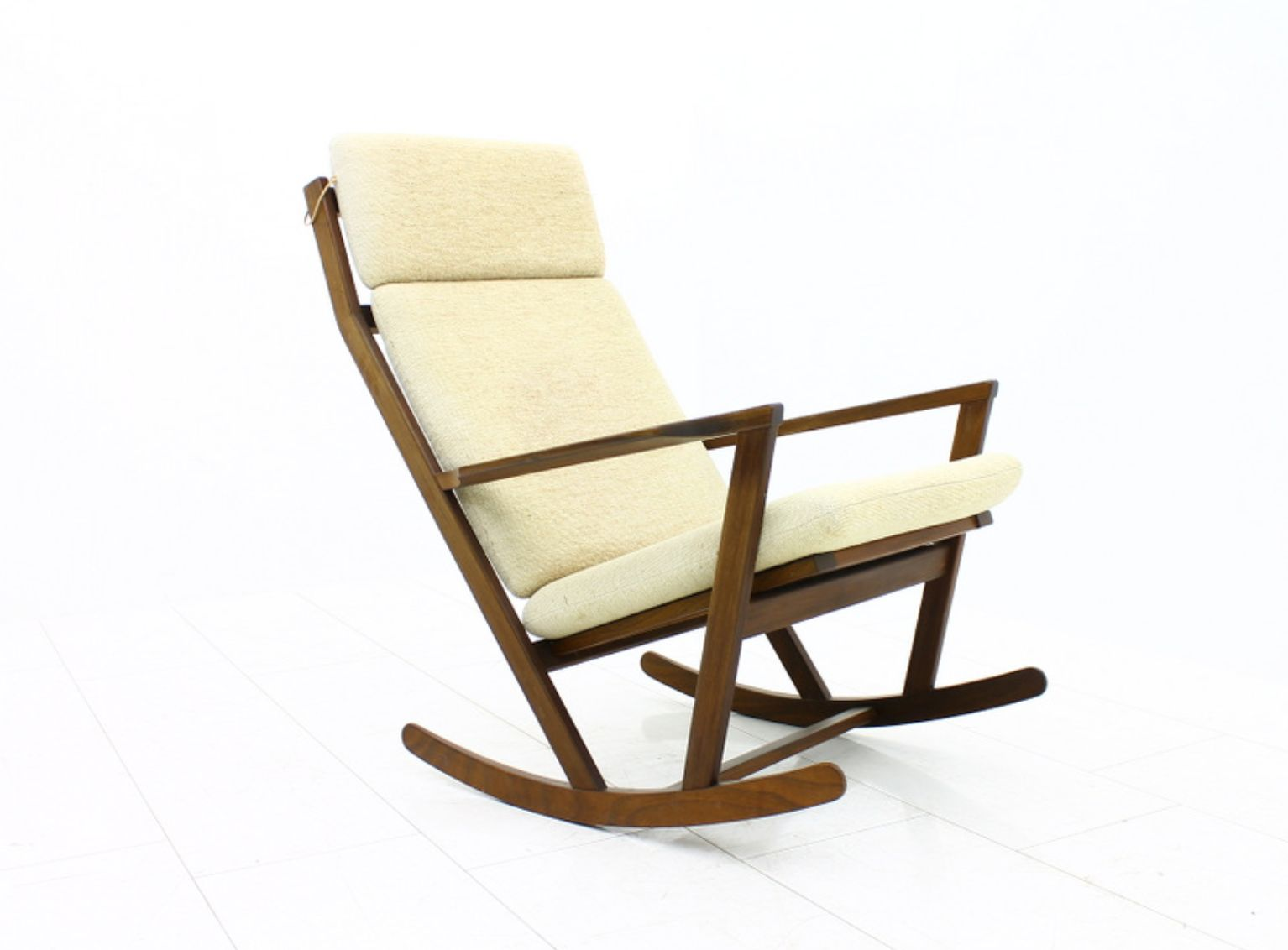 Rocking Chair by Poul Volther for Frem Rojle 1960s for