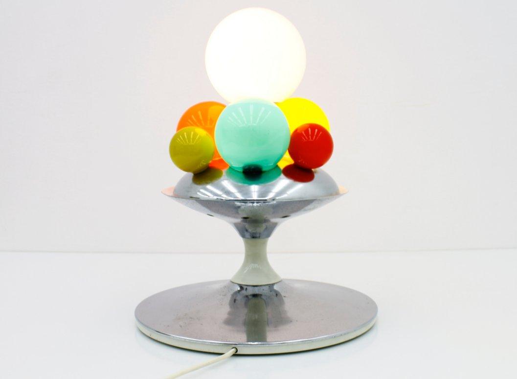 barbarella tischlampe von angelo brotto f r esperia 1965. Black Bedroom Furniture Sets. Home Design Ideas