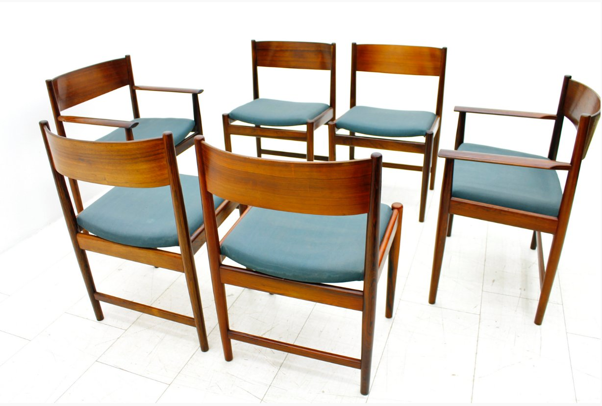 Dining Table And 6 Chairs Ebay Gallery Dining Table Ideas : rosewood dining chairs by arne vodder for sibast furniture 1960s set of 6 8 from sorahana.info size 1228 x 828 png 1158kB