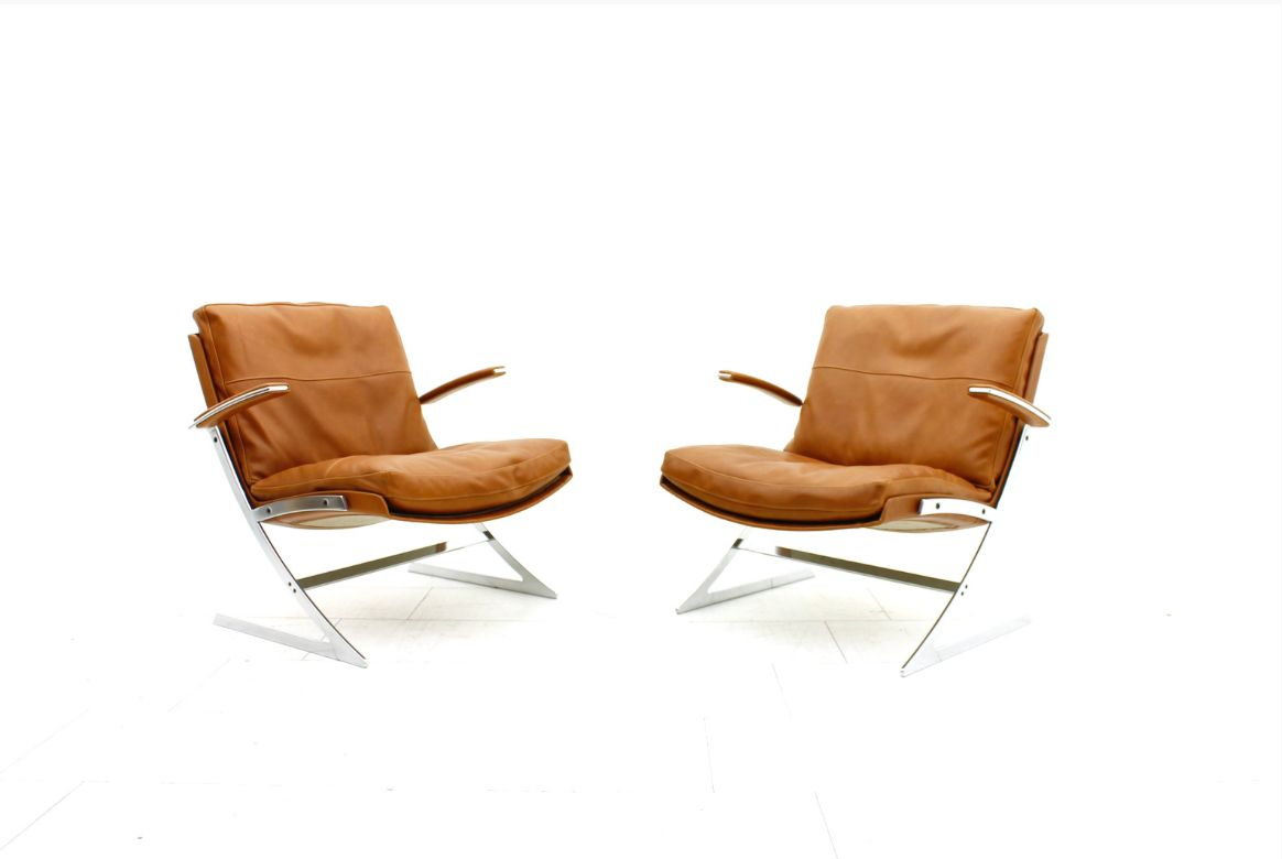 Lobby Chairs By Preben Fabricius For Arnold Exclusiv 1972 Set Of 2 For Sale At Pamono