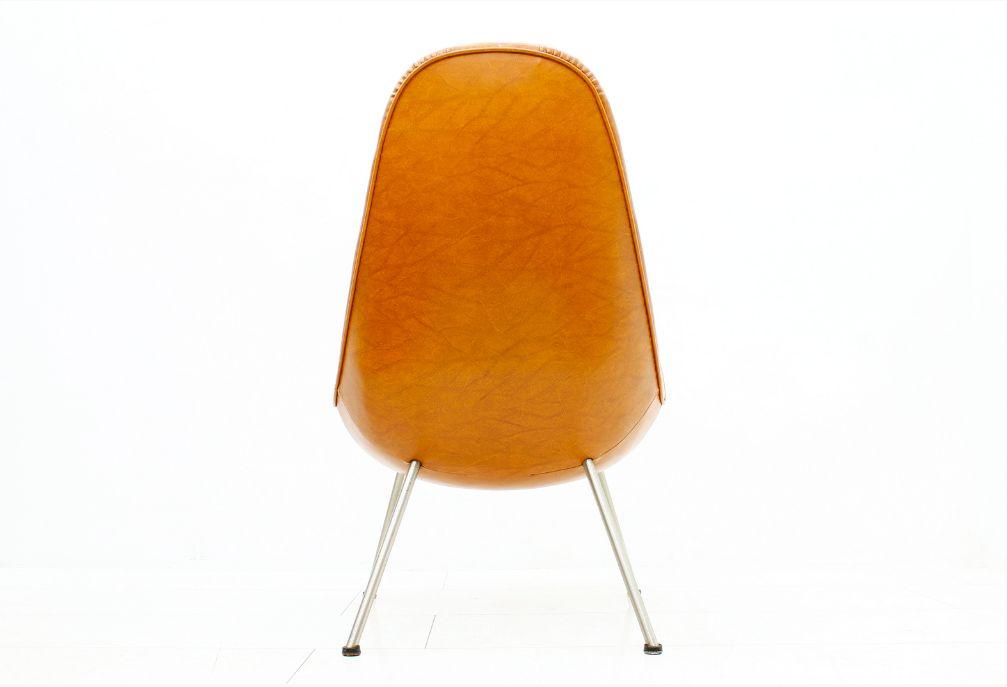 oranger mid century sessel 1950er bei pamono kaufen. Black Bedroom Furniture Sets. Home Design Ideas
