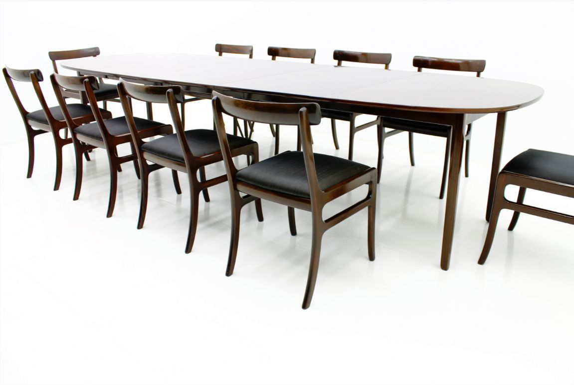 Rungstedlund Dining Suite By Ole Wanscher For P Jeppesen