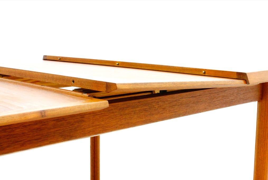 Table de Salle 224 Manger en Teck 224 Rallonge de France amp S248n  : teak extension dining table by france son 1960s 4 from www.pamono.fr size 1015 x 685 png 591kB