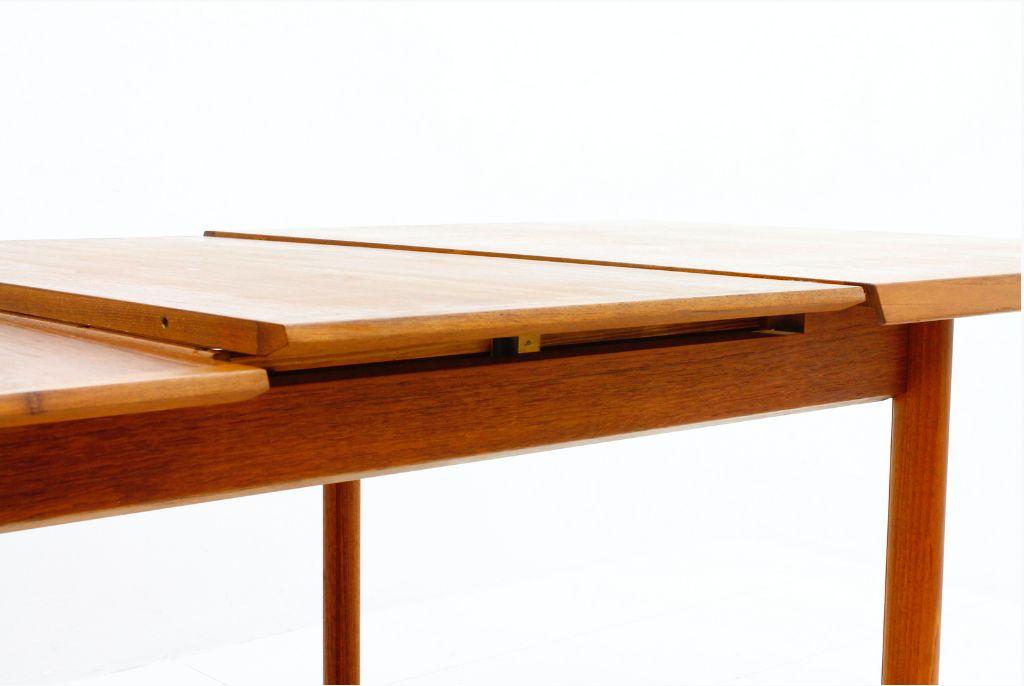 Table de Salle 224 Manger en Teck 224 Rallonge de France amp S248n  : teak extension dining table by france son 1960s 5 from www.pamono.fr size 1024 x 686 png 734kB