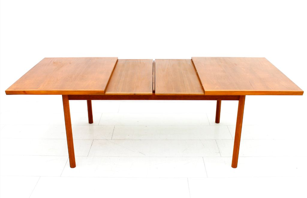 teak extension dining table by france son 1960s for sale at pamono
