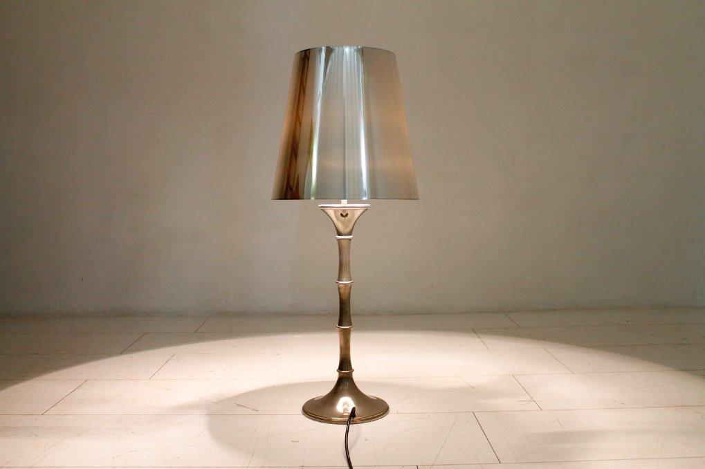 lampe de bureau bamboo par ingo maurer 1973 en vente sur pamono. Black Bedroom Furniture Sets. Home Design Ideas