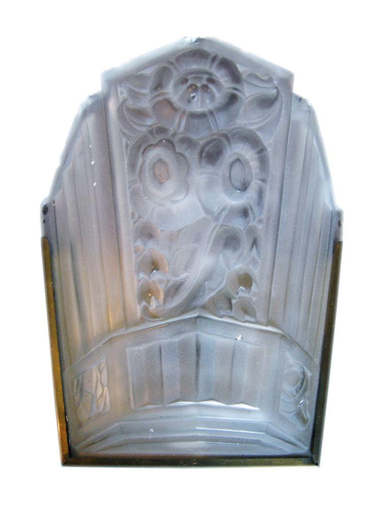 art deco wandlampe bei pamono kaufen. Black Bedroom Furniture Sets. Home Design Ideas