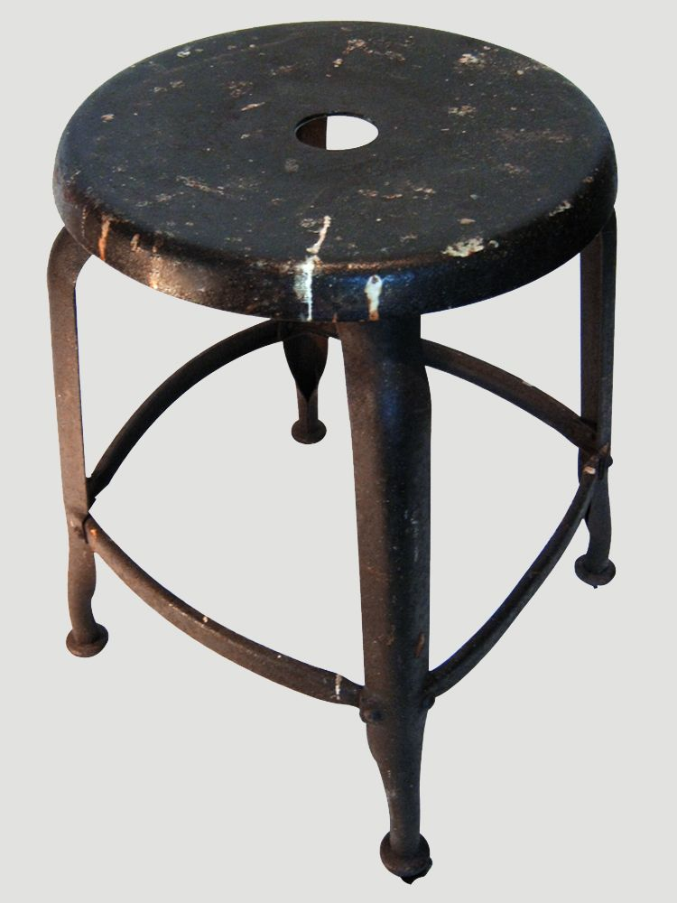 tolix workshop stool for sale at pamono. Black Bedroom Furniture Sets. Home Design Ideas