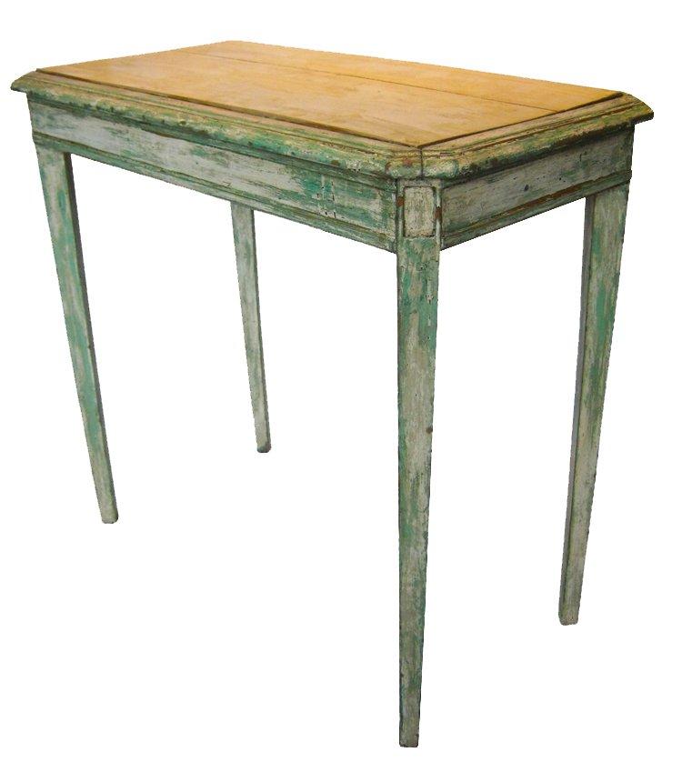 schmaler tisch um 1820 bei pamono kaufen. Black Bedroom Furniture Sets. Home Design Ideas