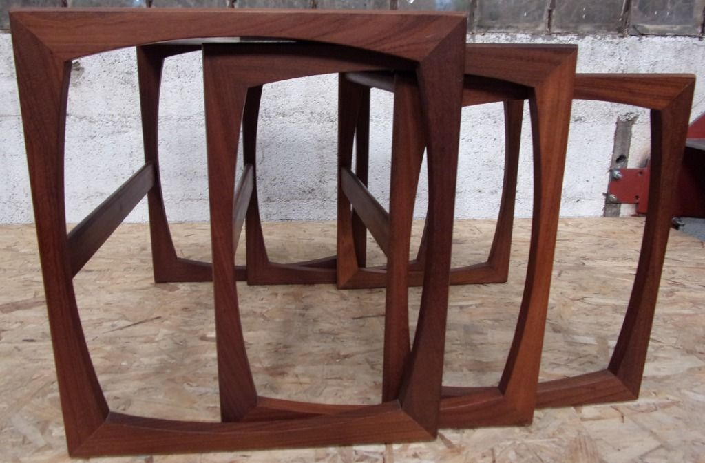Attractive Set Of Tables Part - 9: Vintage Nest Of Tables By Roger Bennett For G-Plan, Set Of 3