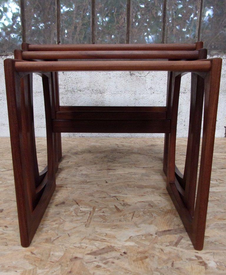 vintage nest of tables by roger bennett for g-plan, set of 3 for