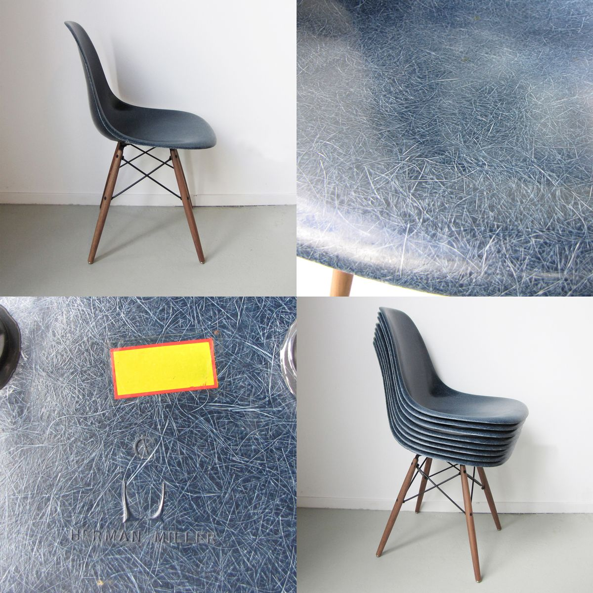 dsw stuhl von charles ray eames f r herman miller 1975 bei pamono kaufen. Black Bedroom Furniture Sets. Home Design Ideas