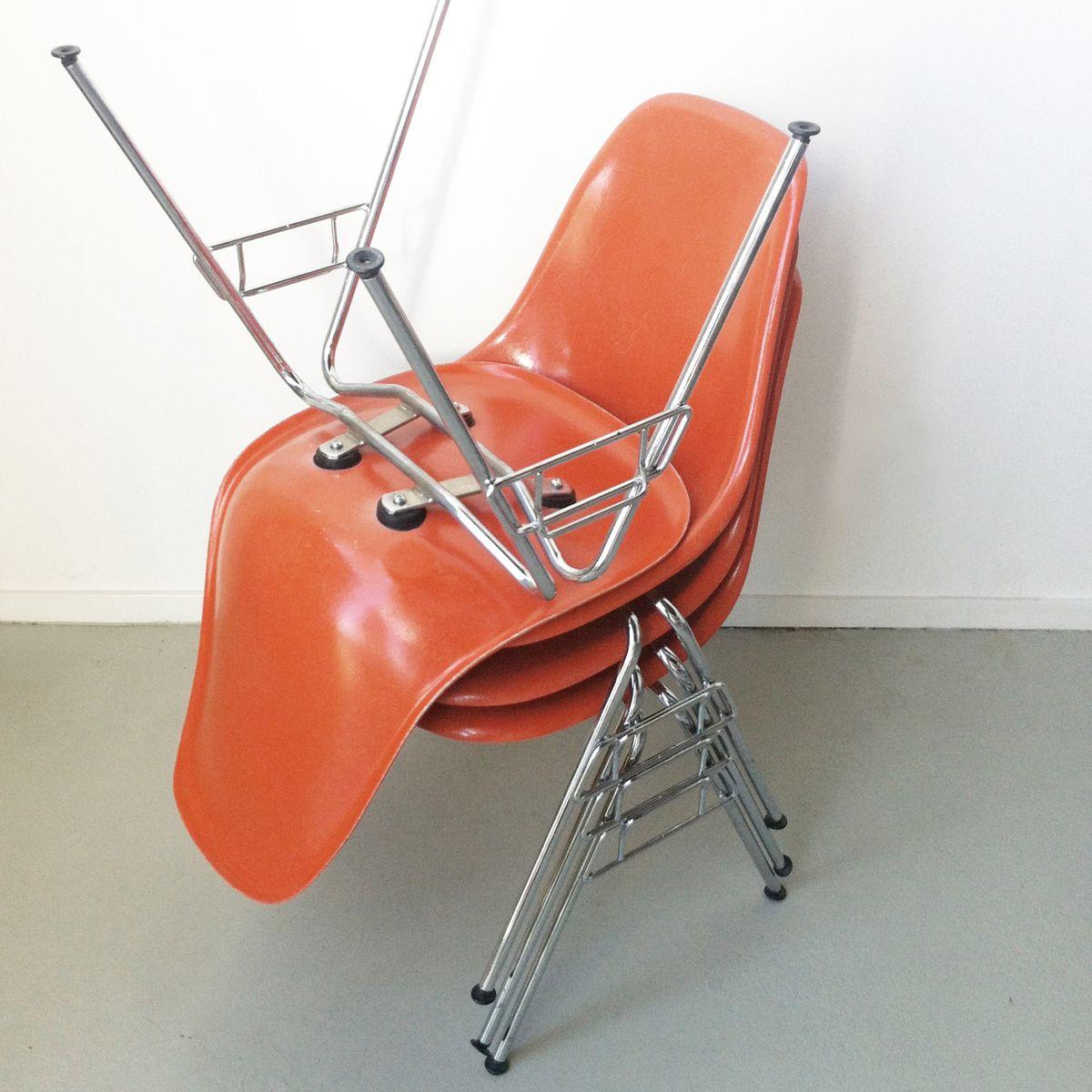 dss stuhl von charles ray eames f r herman miller bei pamono kaufen. Black Bedroom Furniture Sets. Home Design Ideas