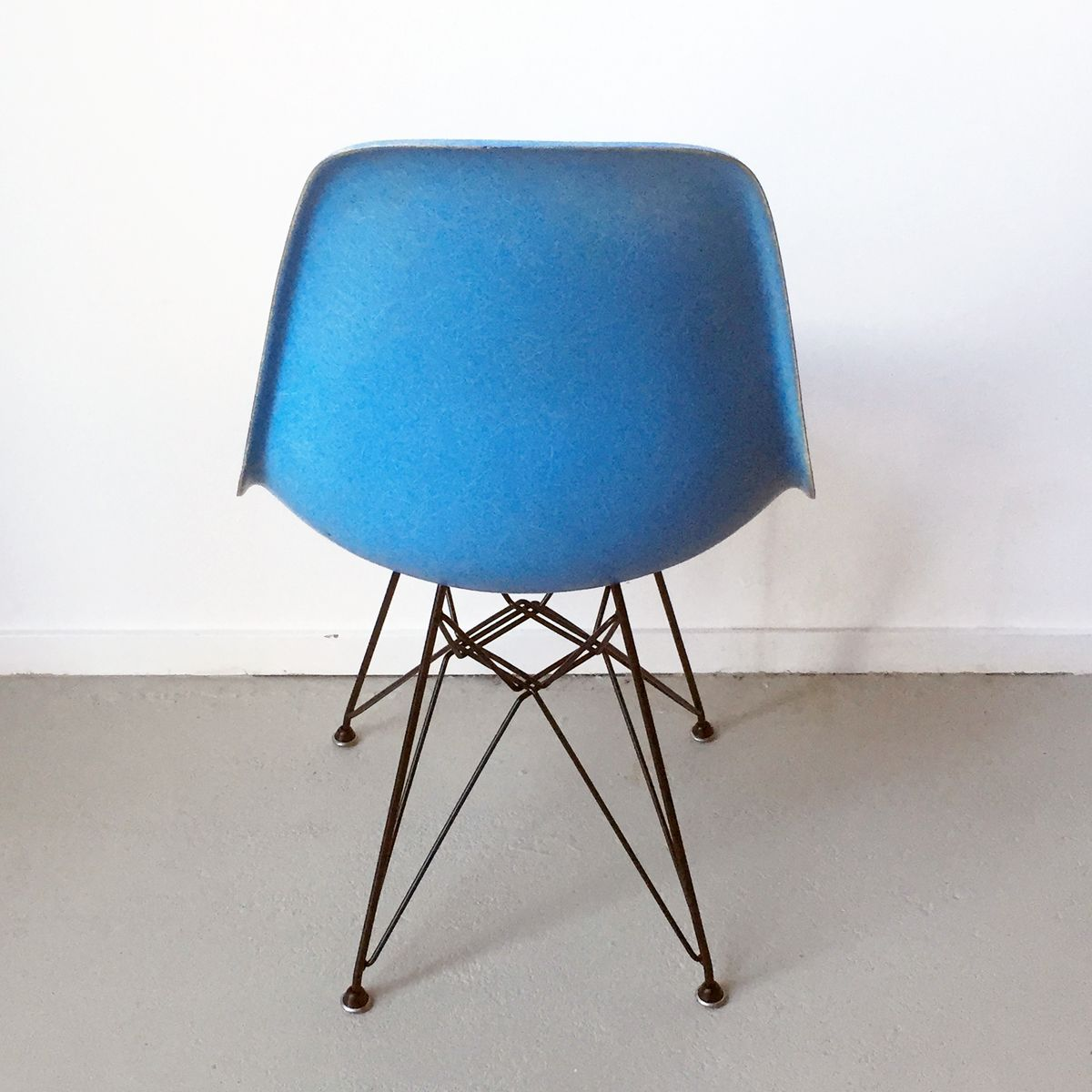 DSW Chair In Turqouise By Charles And Ray Eames For Herman Miller 1971 For S