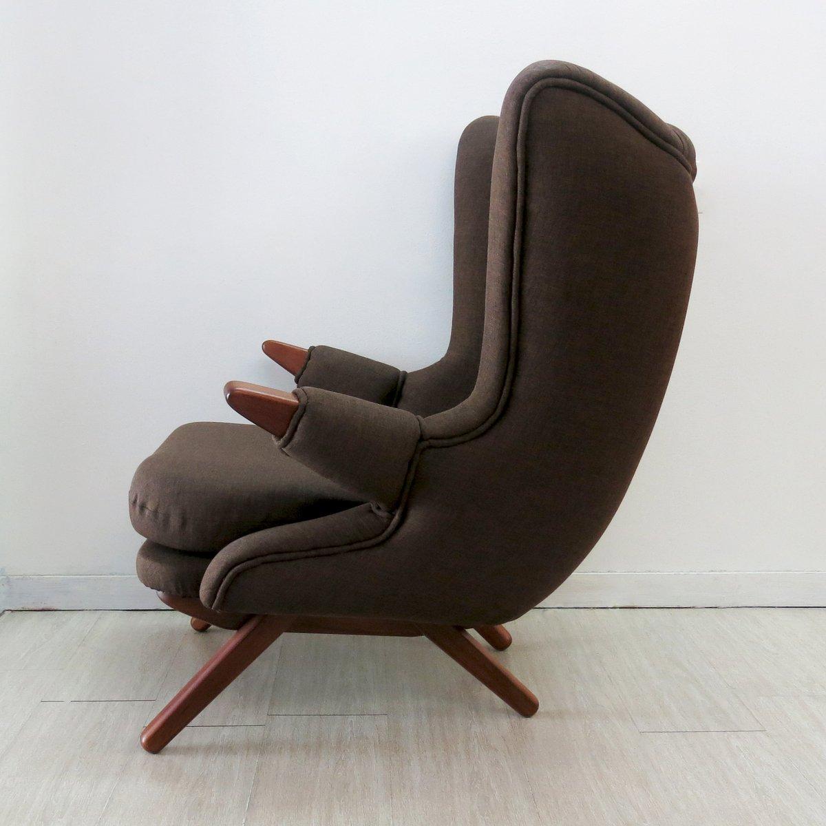 svend skipper lounge sessel mit fu hocker von skippers m bler bei pamono kaufen. Black Bedroom Furniture Sets. Home Design Ideas