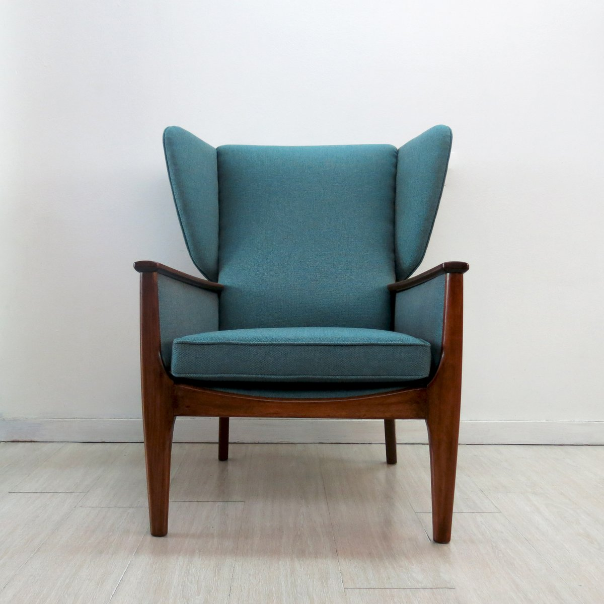 wingback chair from parker knoll 1960s for sale at pamono. Black Bedroom Furniture Sets. Home Design Ideas
