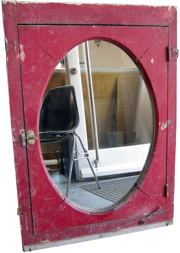 french window frame mirror for sale at pamono. Black Bedroom Furniture Sets. Home Design Ideas