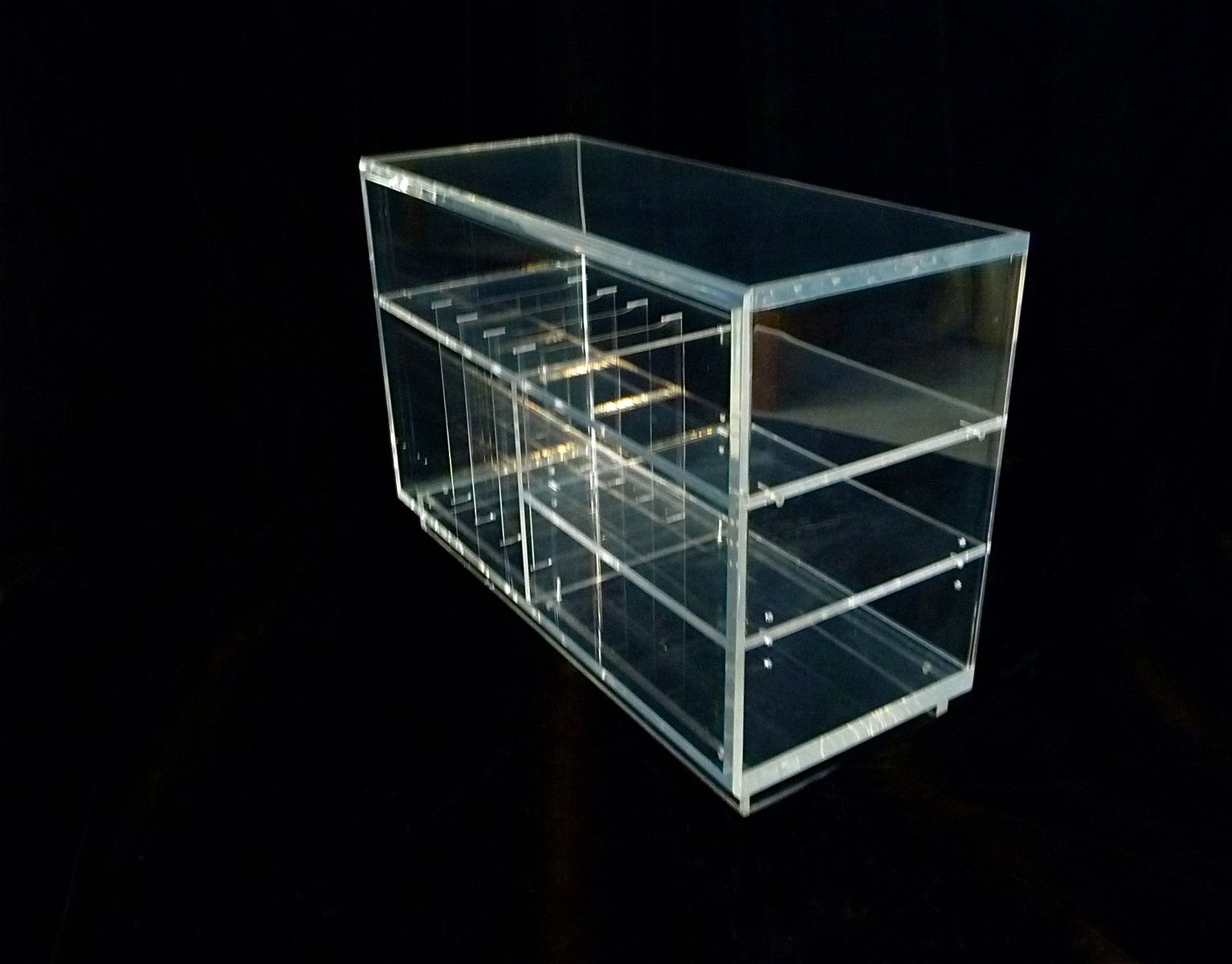 plexiglas hifi shelf 1960s for sale at pamono. Black Bedroom Furniture Sets. Home Design Ideas