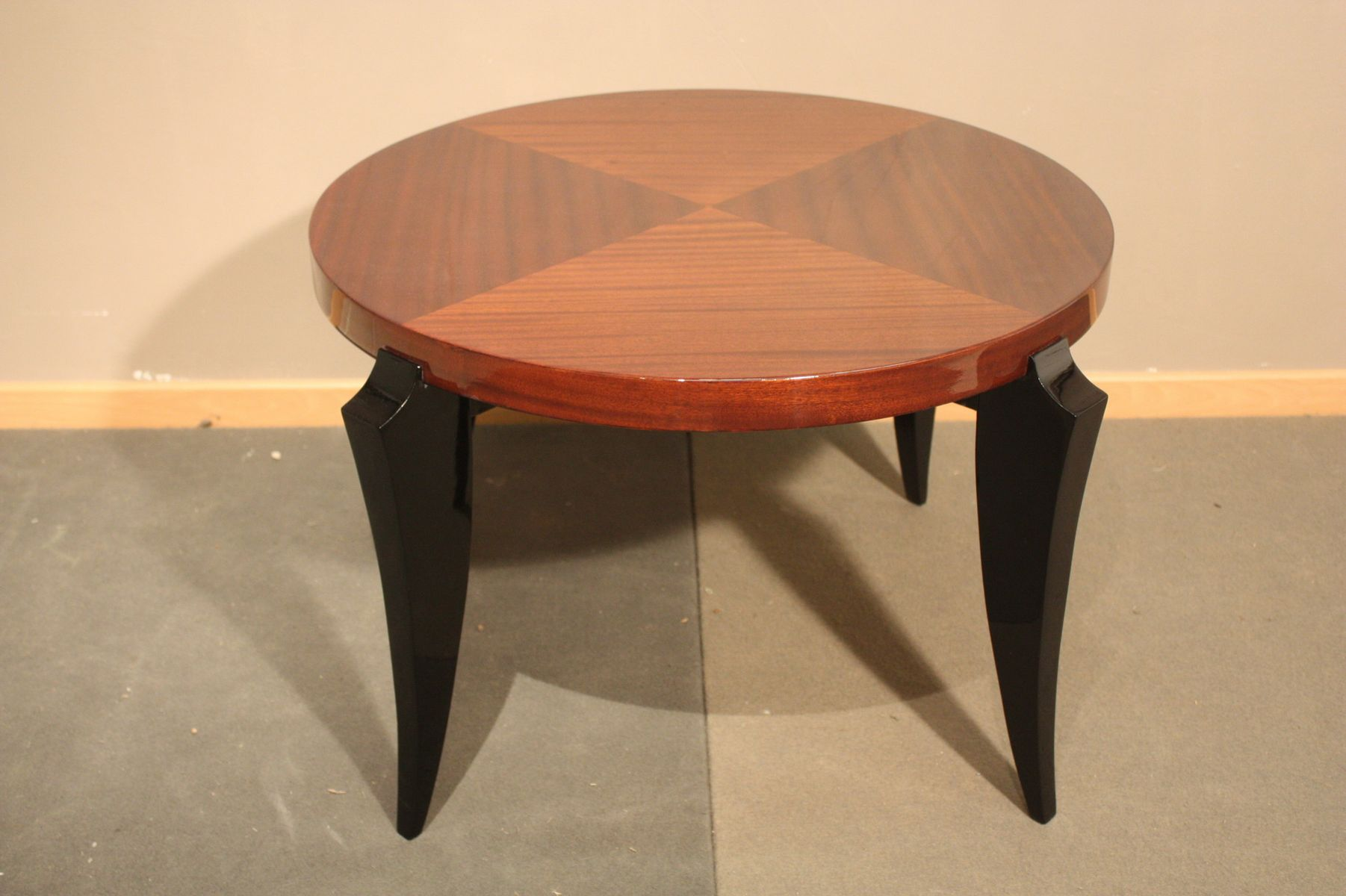 Small Mahogany Coffee Table 1940s For Sale At Pamono