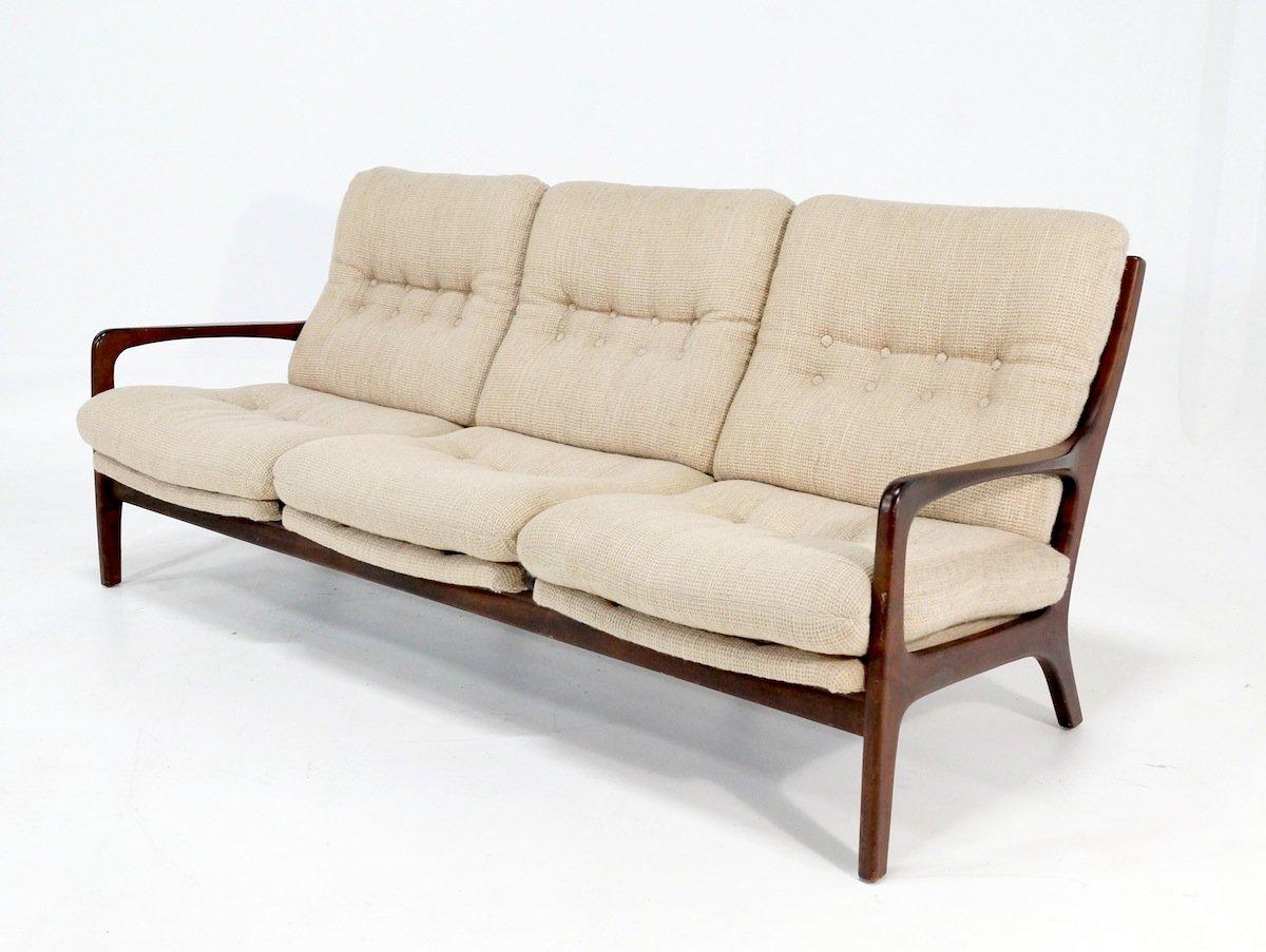 Scandinavian teak sofa for sale at pamono for Sofa nordic