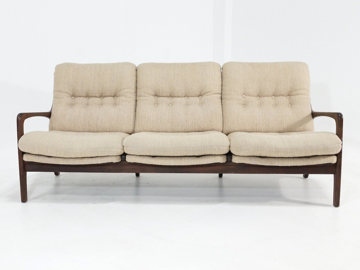 Scandinavian teak sofa for sale at pamono for Sofa skandinavisches design