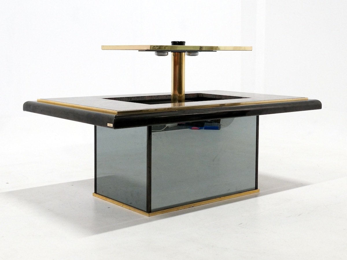 Marble Coffee Table Bar From Fedam 1980s For Sale At Pamono
