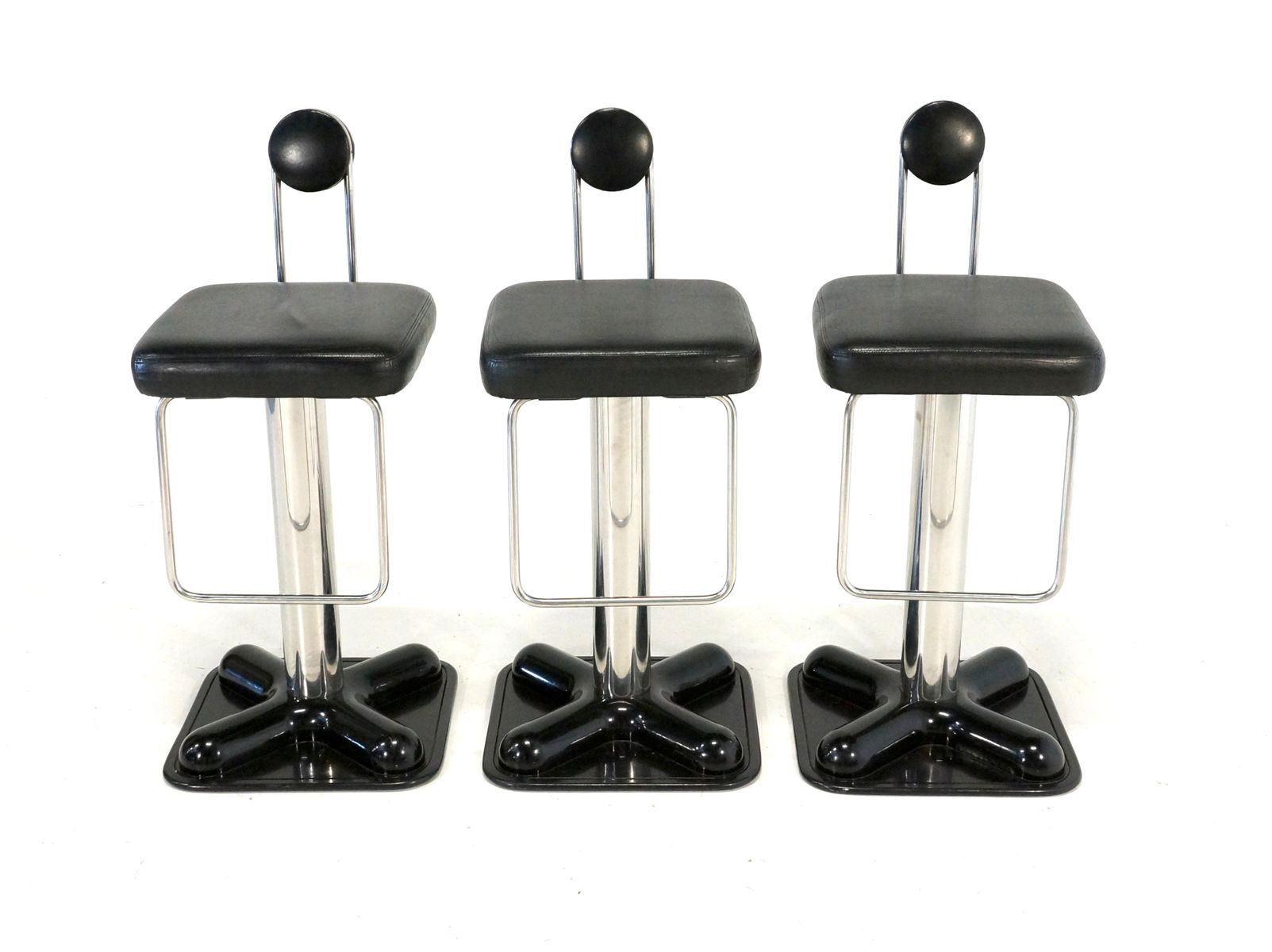 brillo bar stools by joe colombo for zanotta 1970 set of 3 for sale at pamono. Black Bedroom Furniture Sets. Home Design Ideas