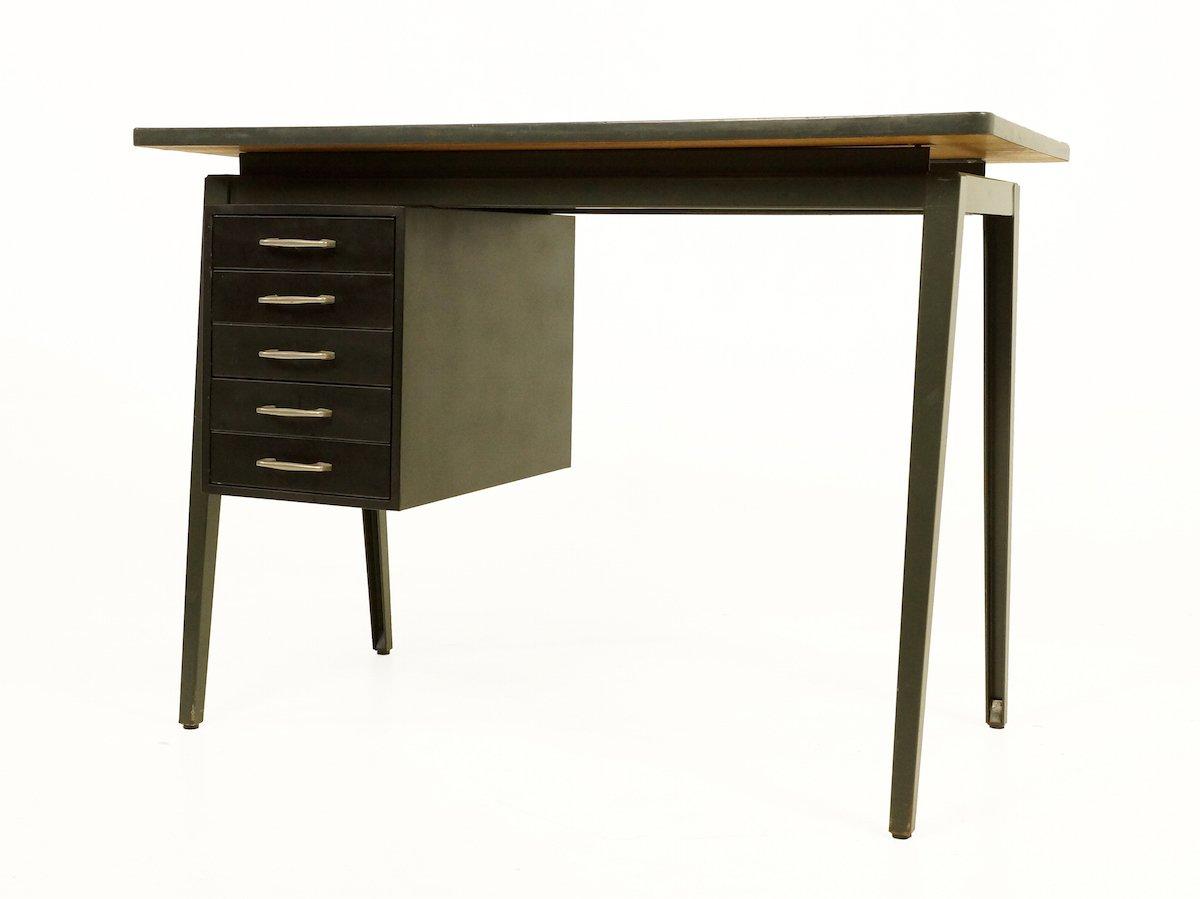 vintage metall schreibtisch von marko 1960er bei pamono kaufen. Black Bedroom Furniture Sets. Home Design Ideas