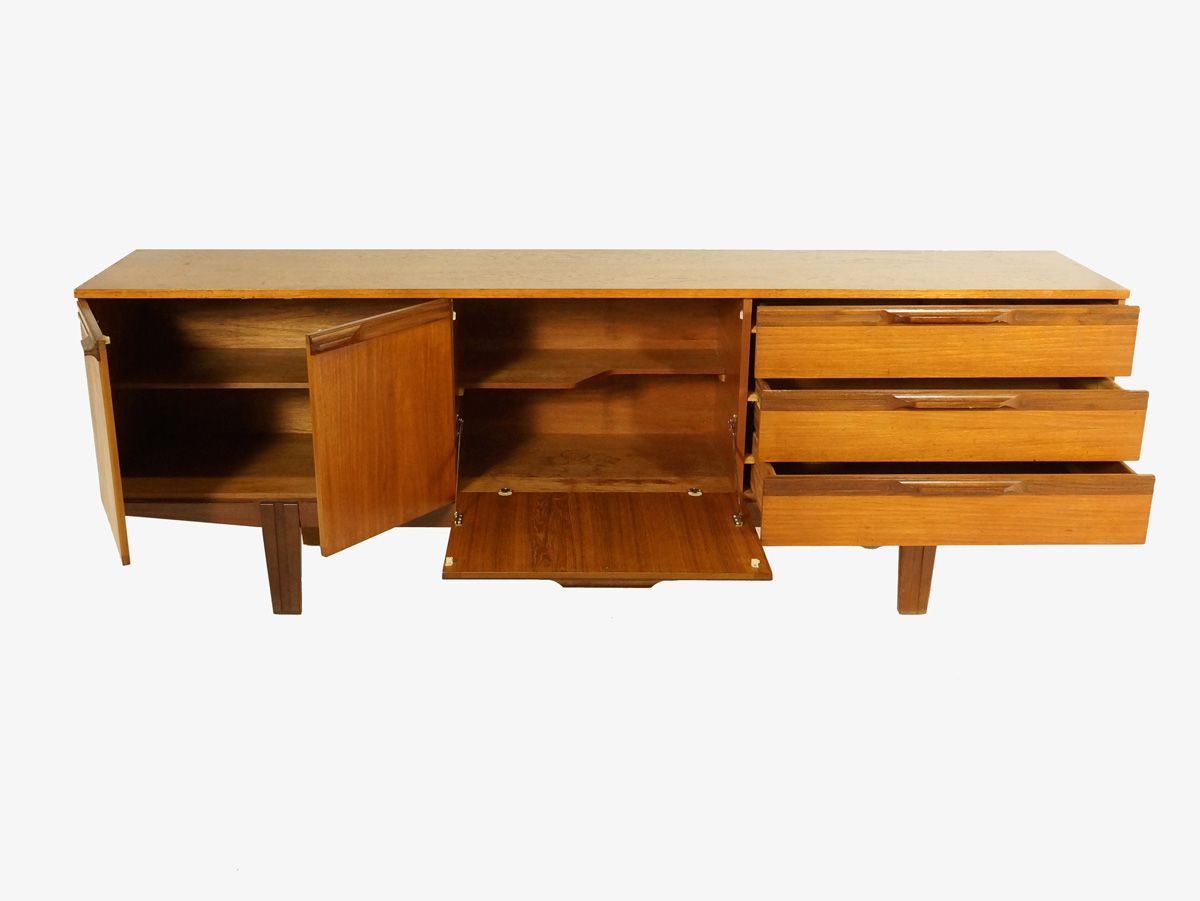 Mid century british teak sideboard 1960s for sale at pamono - Sideboard mid century ...