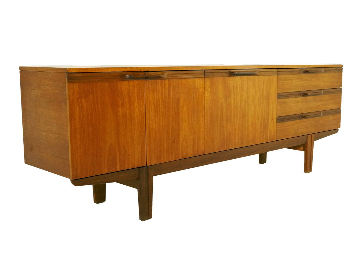 mid century british teak sideboard 1960s for sale at pamono. Black Bedroom Furniture Sets. Home Design Ideas
