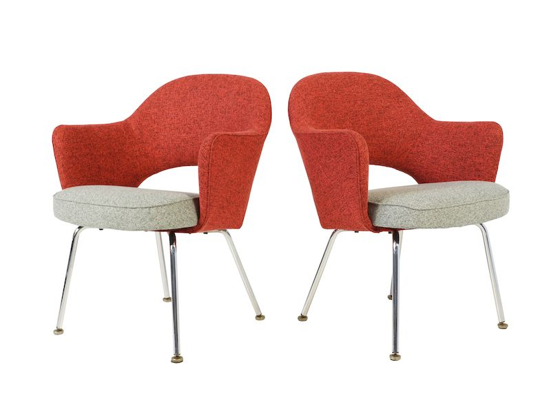 Executive Chairs By Eero Saarinen For Knoll Set Of 2 For Sale At Pamono