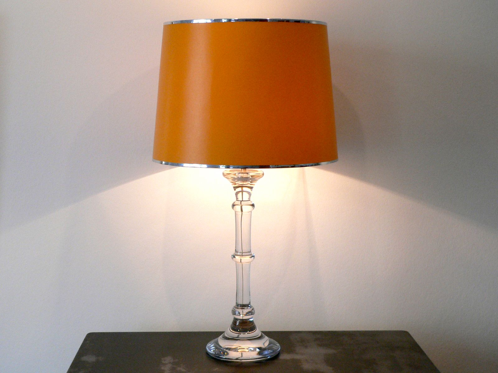 vintage tiffany table lamp from ingo maurer 1967 for sale at pamono. Black Bedroom Furniture Sets. Home Design Ideas