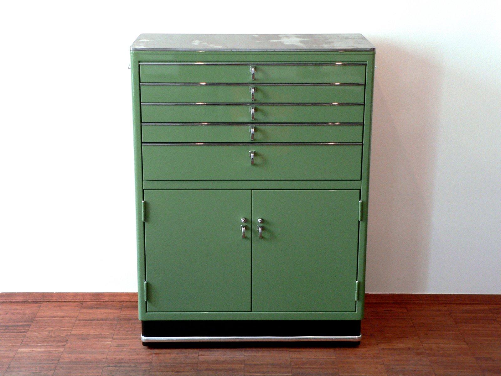 Antique Metal Dental Cabinet Vintage Dental Cabinet 1950s For Sale At Pamono
