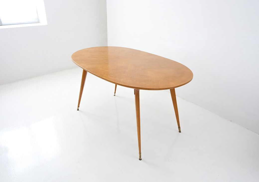Italian Mid Century Dining Table 1950s For Sale At Pamono